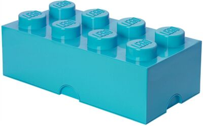 LEGO Opbevaringskasse 8, Design Collection, Azure