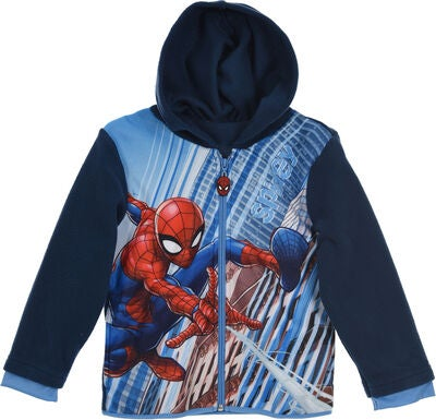 Marvel Spiderman Fleecetrøje, Navy