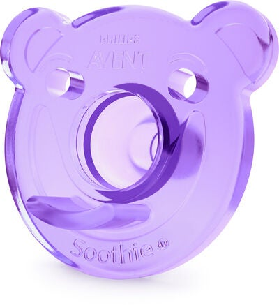Philips Avent Sut 0-3 m 2-pak, Purple/Pink