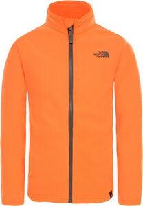 94ef1a82c1f The North Face Snow Quest Full Zip Fleecetrøje, Power Orange