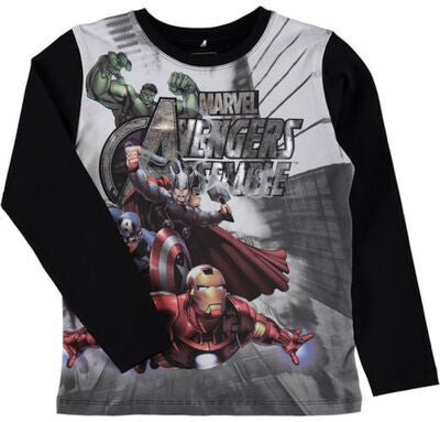 Name it Kids T-shirt Avengers, Sort
