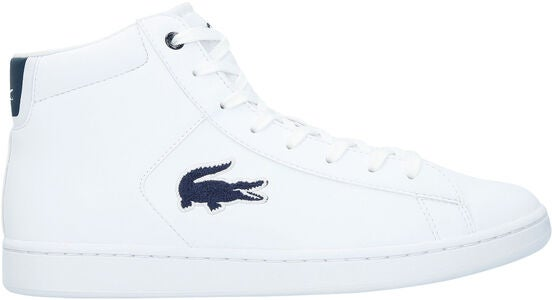 Lacoste Carnaby Evo Mid 3181 Sneakers, White/Navy