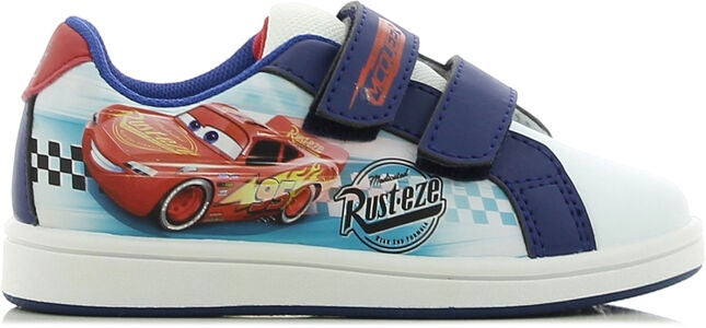 Disney Cars Sneakers, White/Blue