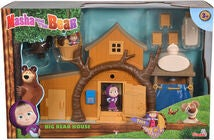 Masha & Bjørnen Legesæt Big Bear House inkl Figurer