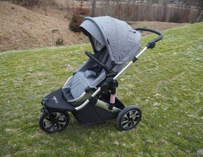 North 13.5 Maxi Jogger Duovogn, Sort/Sølv