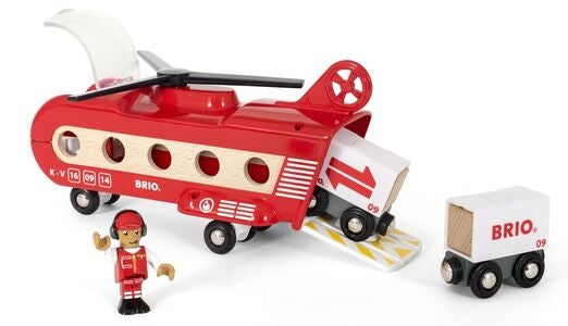 BRIO World 33886 Fragthelikopter