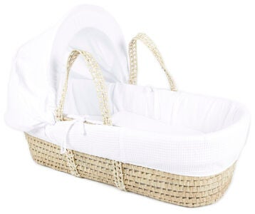 Petite Chérie Moses Basket, White