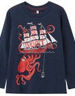 Tom Joule Action T-shirt, Navy Octopus