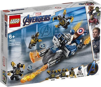 LEGO Marvel Avengers 76123 Captain America Outriders Attack