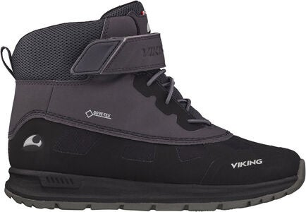 Viking Ted GTX Vinterstøvler, Black/Charcoal