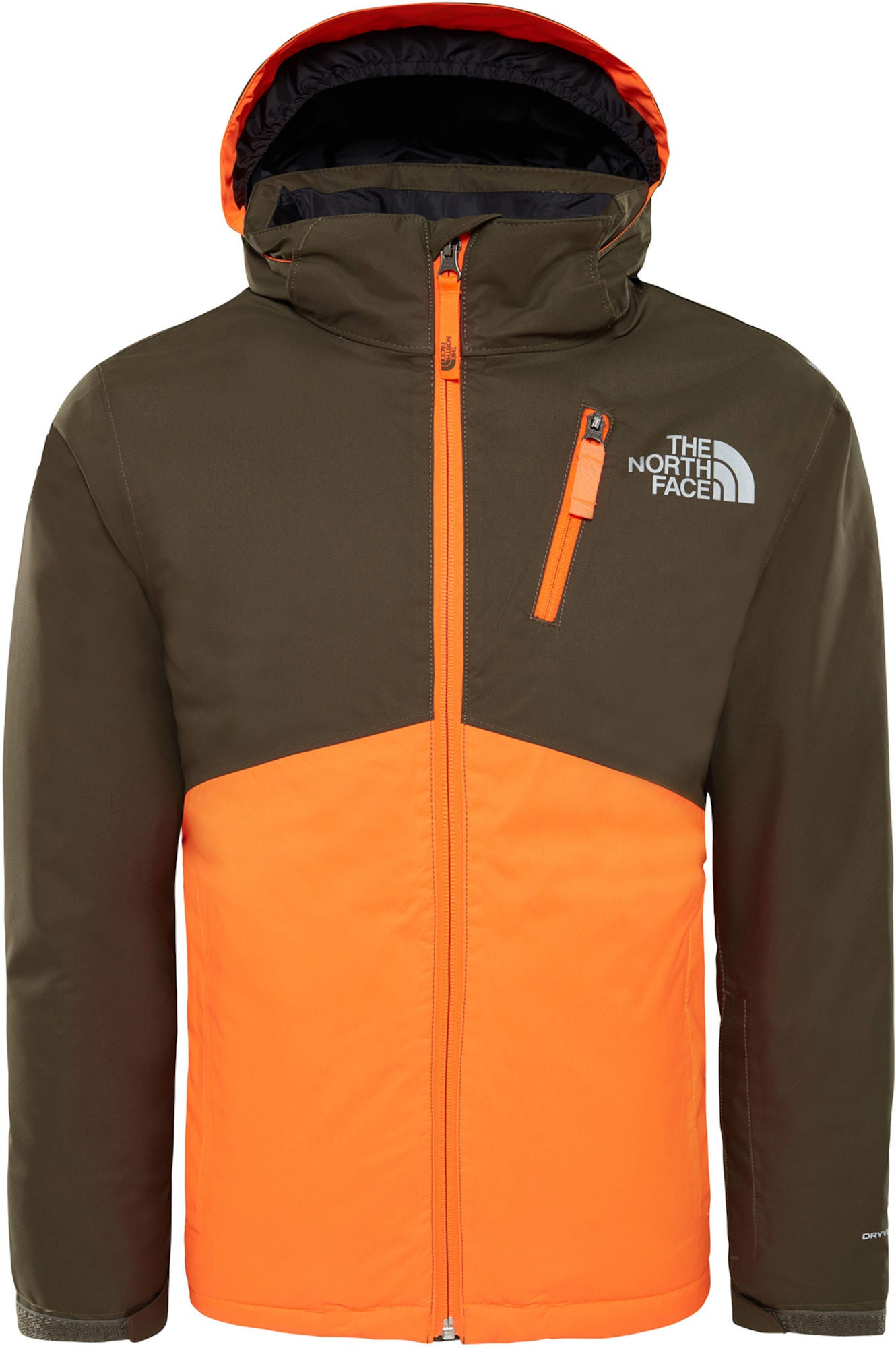e6d0a02a54b Køb The North Face Snowquest Insulated Jakke, New Taupe Green | Jollyroom