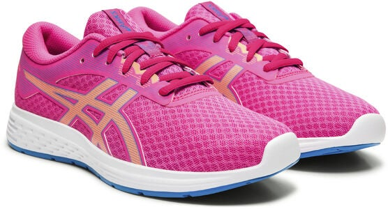 Asics Patriot 11 GS Sneakers, Pink Glo/Sun Coral