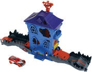 Hot Wheels City Legesæt Nemesis Attack Croc Mansion