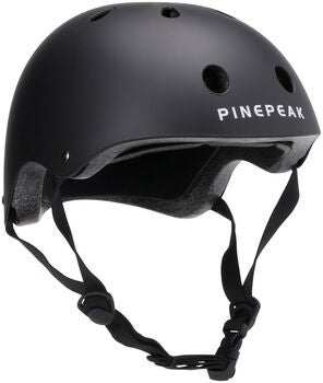 Pinepeak Skateboardhjelm, Sort