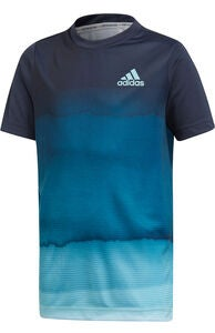 Adidas Boys Parley Printed T-shirt, Legend Ink