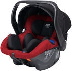 Axkid Modukid Infant Autostol Baby, Red