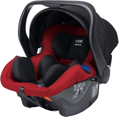 Axkid Modukid Infant Autostol til Baby, Red