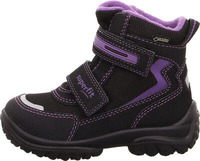 Superfit Snowcat GTX Vinterstøvler, Black/Purple