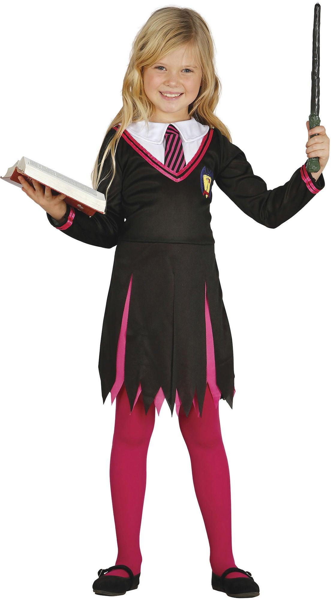 20230206e595 Køb Fiestas Guirca Kostume Troldmandens Lærling Pige