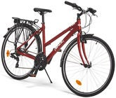 Impulse Premium Commute Cykel 28 Tommer, Red