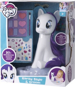 My Little Pony Stylinghoved Hest Rarity
