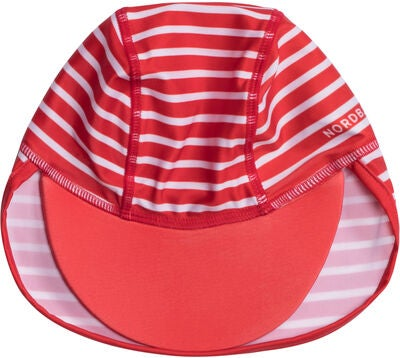 Nordbjørn Vrångö UV-Dragt & Hat, Red Stripe
