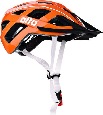 Etto Champery Jr MIPS Cykelhjelm, Orange/White | Hjelme