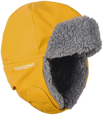 Didriksons Biggles Hat, Oat Yellow