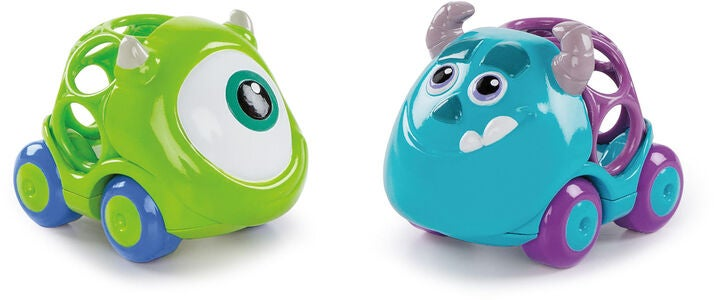 Oball Disney Monsters INC Biler 2-pak