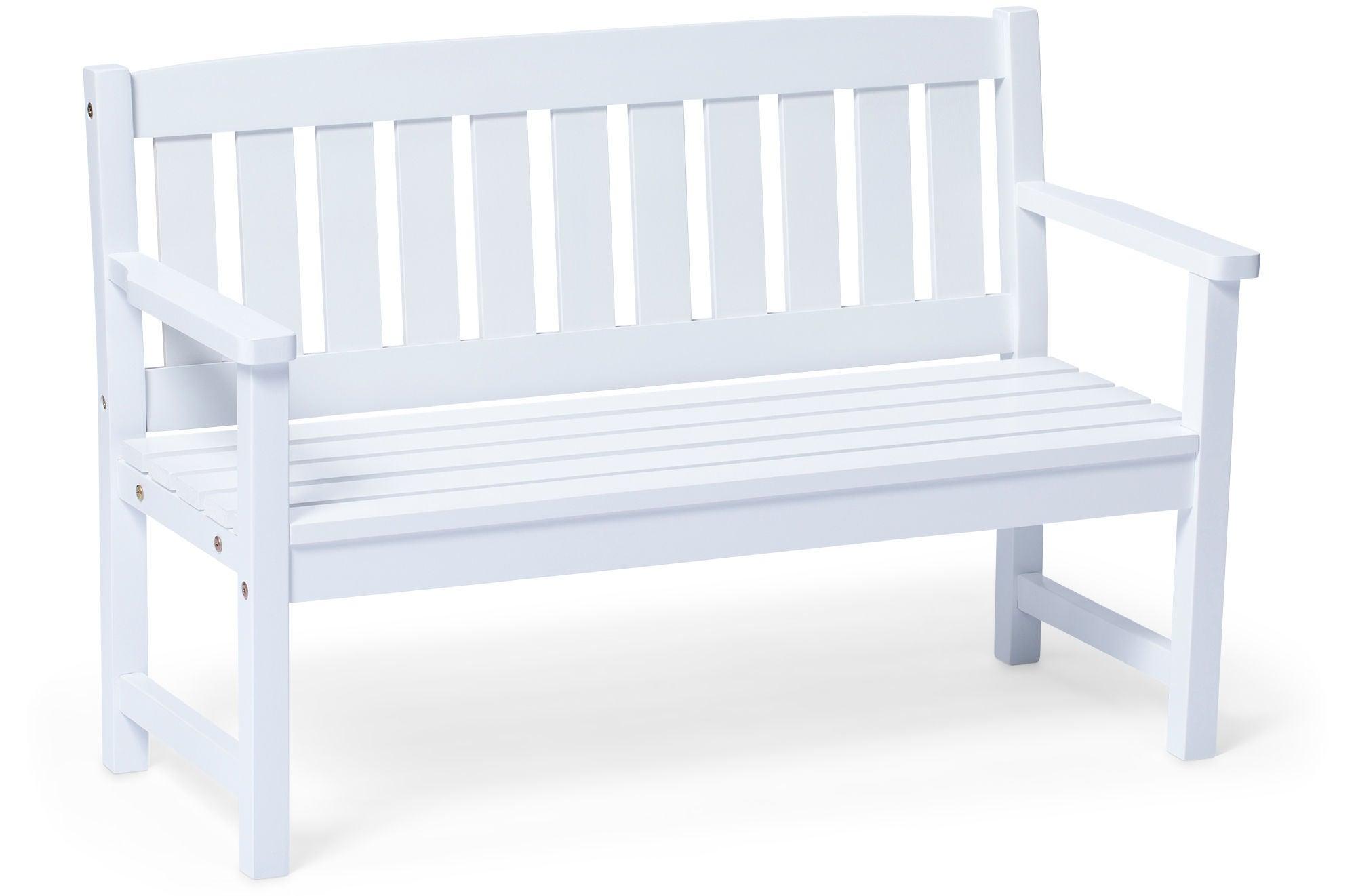Oprindeligt Køb Woodlii Bænk, Hvid   Jollyroom ZR81