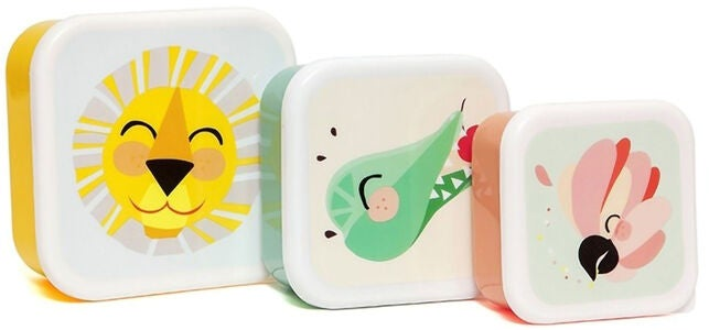 Petit Monkey Lunchbox Jungle