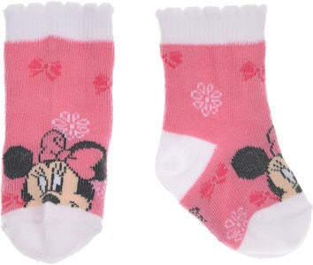 Disney Minnie Mouse Strømper, Pink