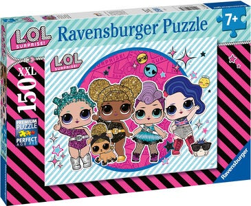 Ravensburger Puslespil L.O.L. Surprise! Ready For The Party 150 Brikker