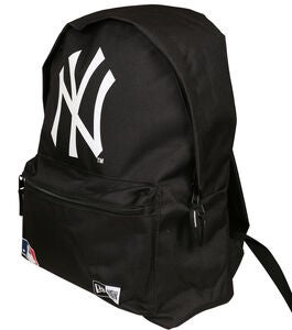 New Era MLB NYY Rygsæk 16L, Black/White