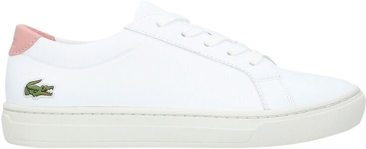 Lacoste L.12.12 318 Sneakers, White/Pink