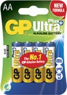 GP Batterier Ultra Plus Alkaline AA 4-pak