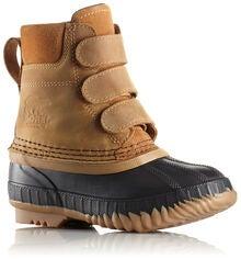 3dba021a72a Sorel Children's Cheyanne Velcro Støvler, Elk/Black