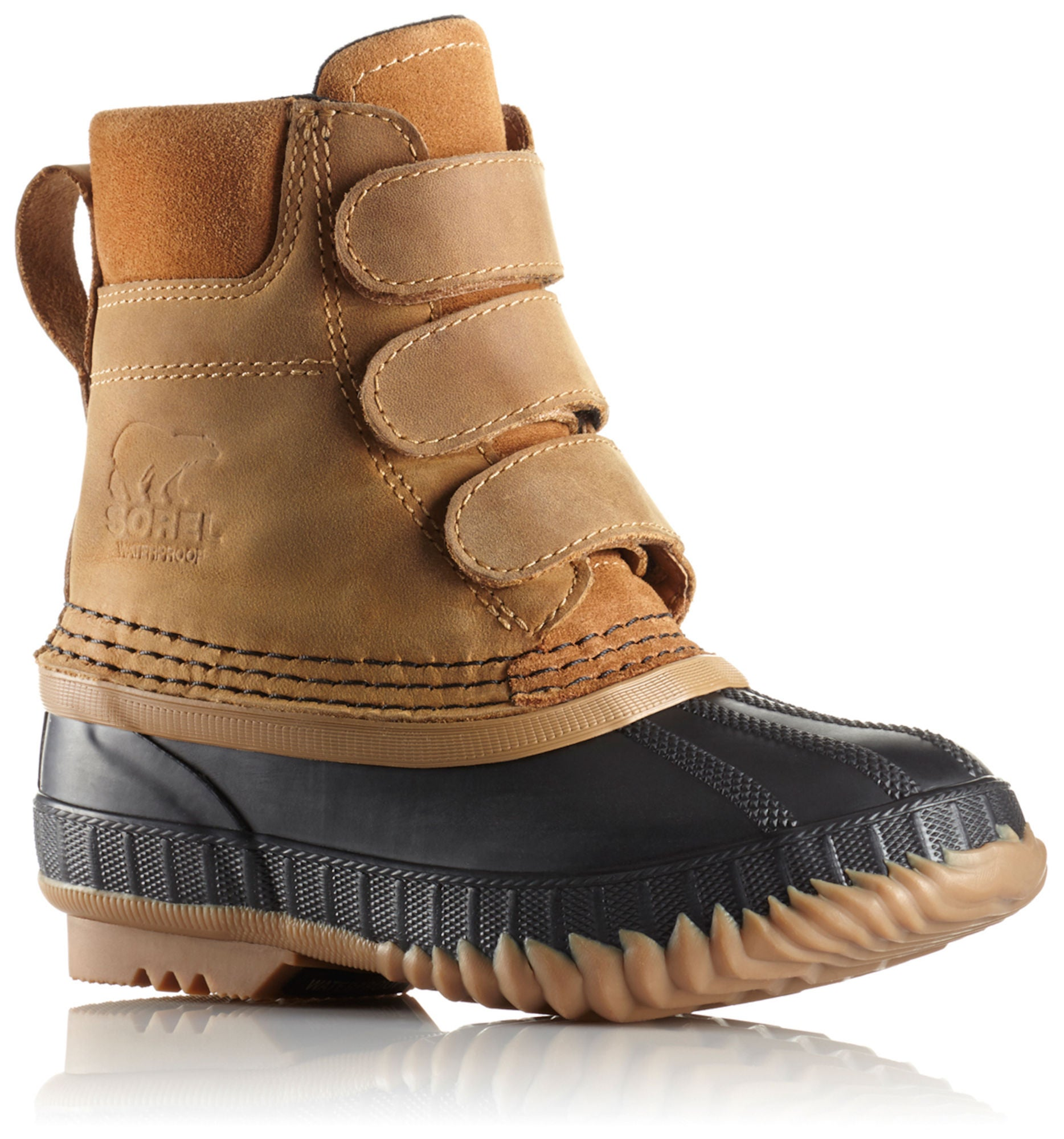 Køb Sorel Children's Cheyanne Velcro Støvler, ElkBlack