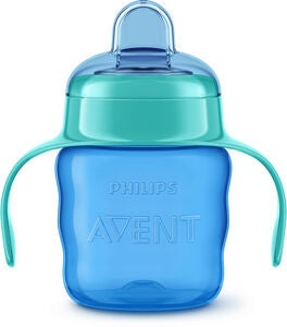 Philips Avent Classic Tudkop 200 ml, Blue/Green