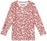 Hyperfied Long Sleeve Logo Top, Pink Leo