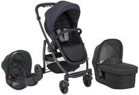 GRACO Evo Trio Travelsystem, Black/Grey