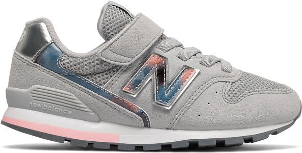 New Balance 996 Sneakers, Light Aluminium