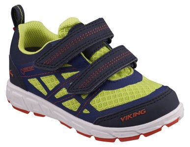 Viking Veme Vel GTX Sneakers, Navy/Lime