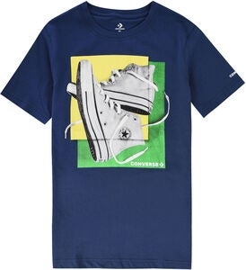 Converse Sneaker Squares T-Shirt, Navy