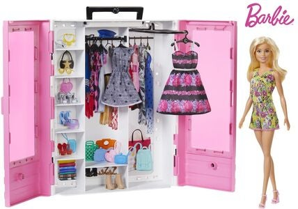 Barbie Dukke & Ultimate Garderobe