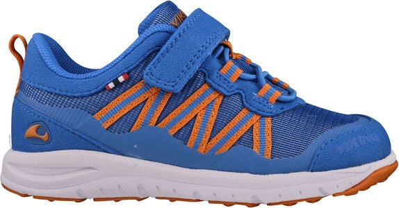 Viking Holmen Sneakers, Blue/Orange