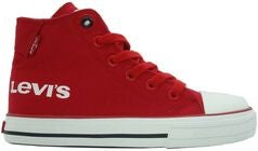 Levi's Duke Hi Print Sneakers, Red