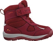 Viking Hamar Kids II GTX Vinterstøvler, Dark Red/Red
