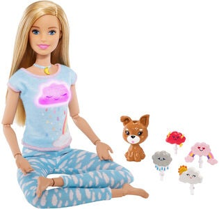 Barbie Wellness Dukke Meditation