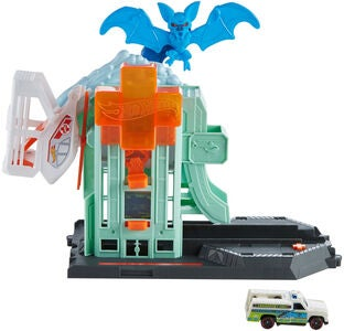 Hot Wheels City Legesæt Bat Blitz Hospital Attack